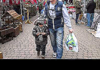 Christmas Eve Egham England 2014 Daddy Robin Son Anthony Marina Mama  Shopping in Stainse