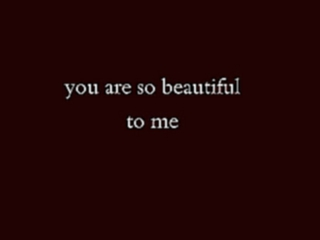 Видеоклип к песне You are so beautiful: Joe Cocker- You Are So Beautiful Lyrics