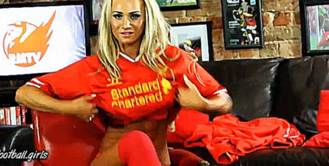 Видеоклип к песне Illegale Fans:  Strip Sexy Girl fan Liverpool FC  @football.girls