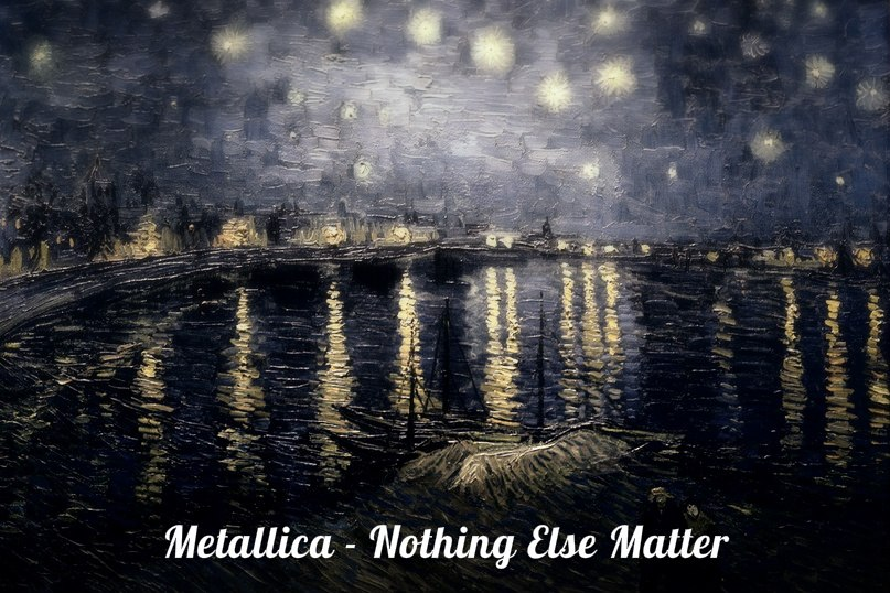 Metallica Nothing else matter