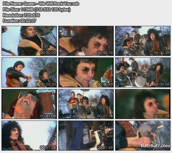 Queen - Минусовка We Will Rock You